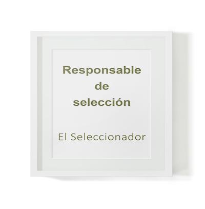 Selección de responsable de selección