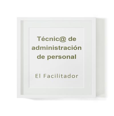 Selección de técnico en administración de personal