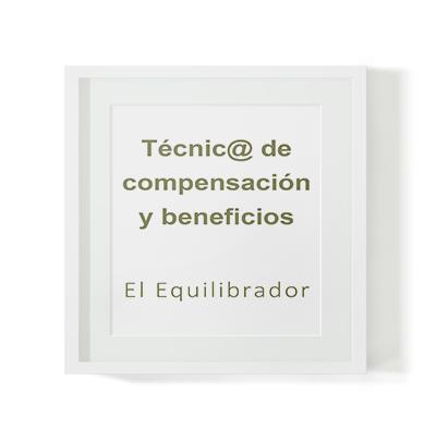 Selección de técnico en compensación y beneficios