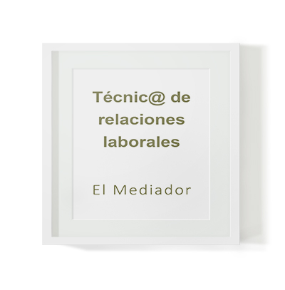 Selección de técnico de relaciones laborales